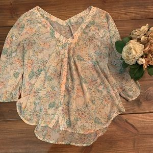 LC sheer blouse